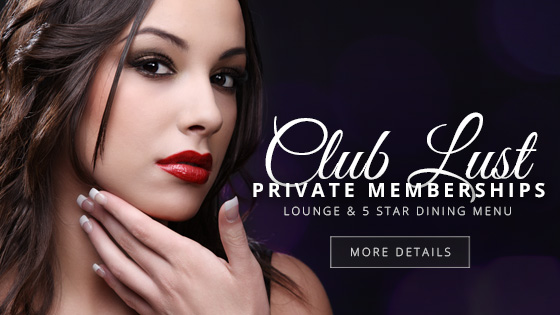 club desire, club lust, Club lust membership banner