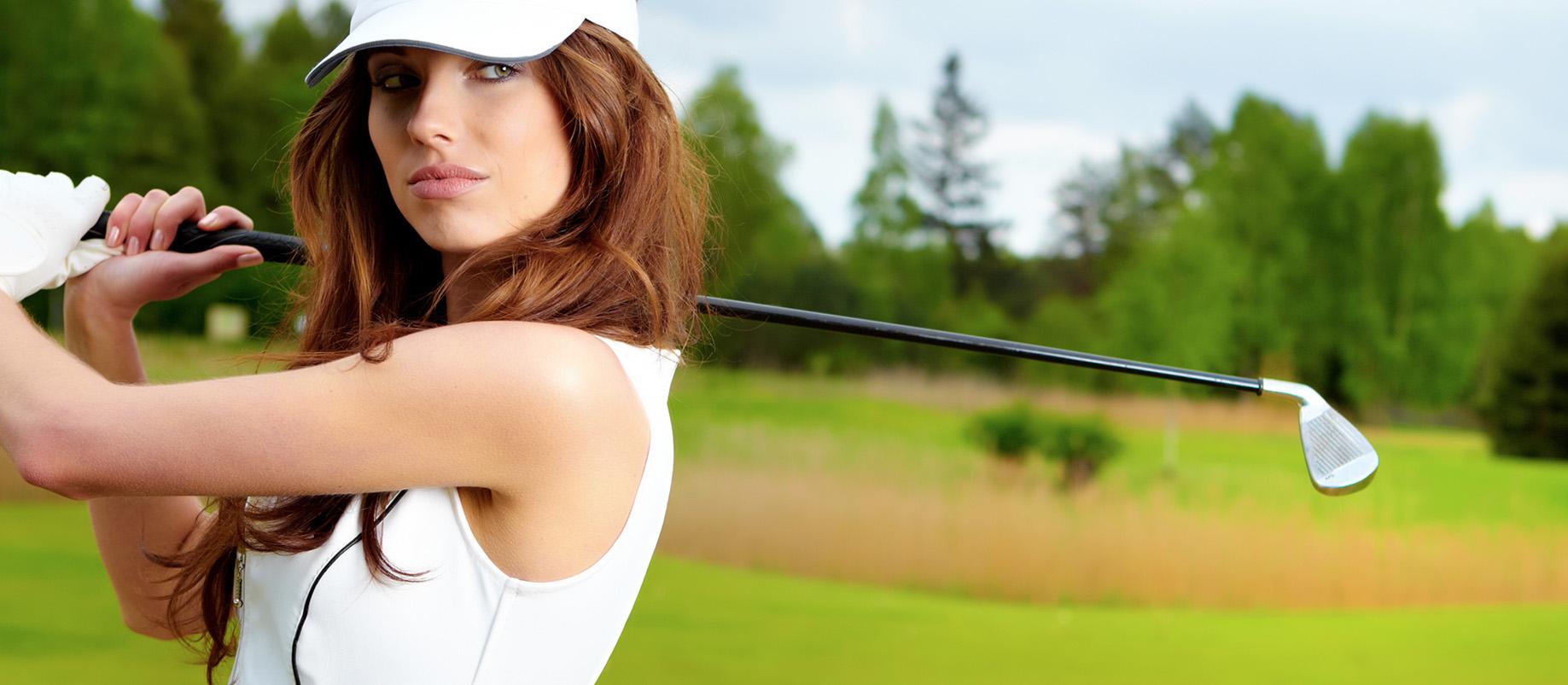 club desire, club lust, Golf tournament banner